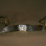 50815 Rendezvous West Mountain Ferns Bracelet by Deborah & Russell Shamah Carved Leather ~  x