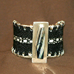 51715 Rendezvous West Stingray Cuff Bracelet by Deborah & Russell Shamah Stingray ~  x
