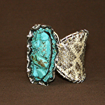 52615 Rendezvous West Diamond Back Butterfly Bracelet by Deborah & Russell Shamah Diamond Back Snake Skin ~  x