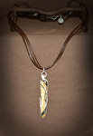 70314 Rendezvous West Wooly Mammoth Ivory Necklace by Deborah & Russell Shamah  ~  x