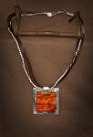 40214 Rendezvous West Figure Maple Necklace by Deborah & Russell Shamah  ~  x