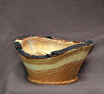 32414 Rendezvous West Natural Edge Elm Bowl by Deborah & Russell Shamah Wood ~  x 7 1/2""