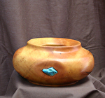 32614 Rendezvous West Ponderosa Pine Hollow Vessel by Deborah & Russell Shamah Wood ~  x 8 1/2""