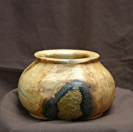 33713  Rendezvous West Colorado Aspen Hollow Vessel by Deborah & Russell Shamah  ~  x 5 1/2""