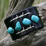 #51212 Sterling Silver Barbed Wire Cuff by Deborah & Russell Shamah  ~  x