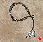 54307 ~ Lariat in Brown by Deborah & Russell Shamah  ~  x Adjustable