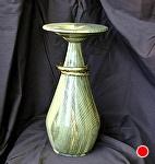 32610~ Wedding Vase by Deborah & Russell Shamah Wood ~ 13 x