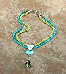 #71911 Rendezvous West Necklace by Deborah & Russell Shamah  ~  x