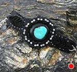 #51411 Deerhide Bracelet by Deborah & Russell Shamah  ~  x