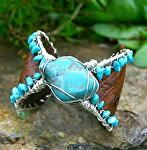 #52511 Fox Turquoise by Deborah & Russell Shamah  ~  x