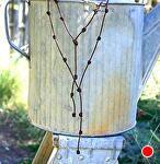 #71407 Knotty Lariat by Deborah & Russell Shamah  ~  x
