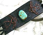 #50209 Flying Eagle & Number 8 Turquoise by Deborah & Russell Shamah  ~  x