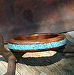 #41112 Walnut with Turquoise Inlay by Deborah & Russell Shamah  ~  x