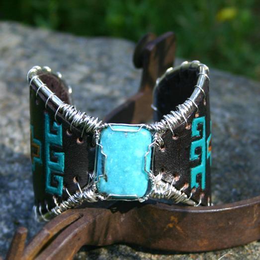 #50112 Indian Blanket Butterfly Bracelet by Deborah & Russell Shamah  ~  x