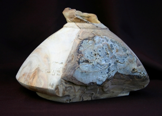 "30910 ~ Aspen Bark Inclusion by Deborah & Russell Shamah Wood ~ 5.5"" x 8"""