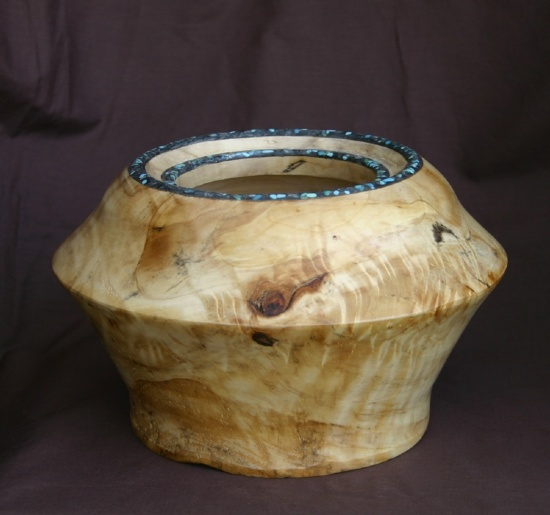 31611~ Elm with Double Ring by Deborah & Russell Shamah  ~ 6 x 9