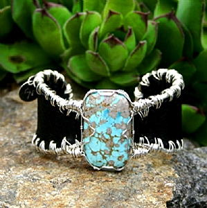 #52211 Carico Turquoise by Deborah & Russell Shamah  ~  x