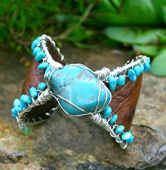 #52511 Fox Turquoise by Deborah & Russell Shamah  ~  x