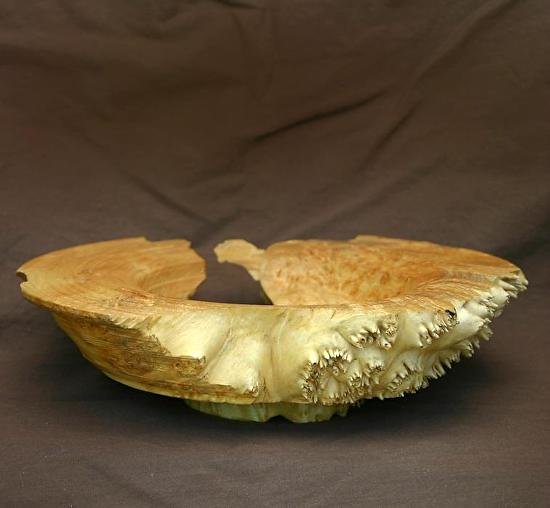 "#30911 Maple Burl by Deborah & Russell Shamah  ~ 2.25"" x 8.5"""