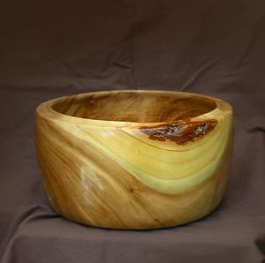 "#34111 Elm Bowl by Deborah & Russell Shamah  ~ 5"" x 9.75"""