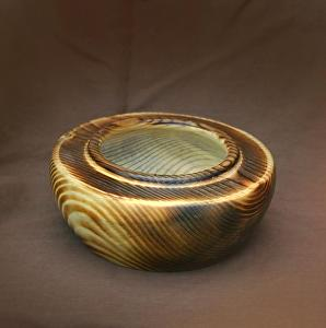 "#35011 Beetle Kill Pine by Deborah & Russell Shamah  ~ 2.5"" x 5.5"""
