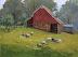 Farm on Dark Hollow Road by Sherri Thomas