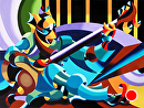 Mark Webster - The Sitar Player Revisited - Abstract Geometric Futurist Figurative Oil Painting by Mark Webster Oil ~ 36 x 48