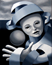 "Gray Matter #7 - Original Oil Painting Series by Northern California Artist Mark Webster by Mark Webster Oil ~ 10"" x 8"""