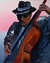 "Jazz #2 Acrylic Painting by Mark Webster Acrylic ~ 20"" x 16"""