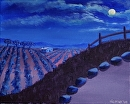 """Vineyard #16 Acrylic Painting by Northern California Artist Mark Webster by Mark Webster Acrylic ~ 8"""" x 10"""