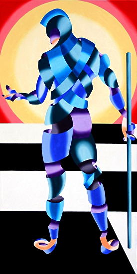 "Jesse by Mark Webster Oil ~ 24"" x 48"""