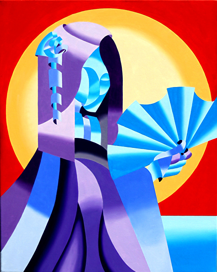 "Geisha by Mark Webster Oil ~ 30"" x 24"""