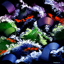 Mark Webster - Abstraction 3 - Abstract Oil Painting