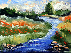 Mark Webster - Impressionist Landscape Oil Painting