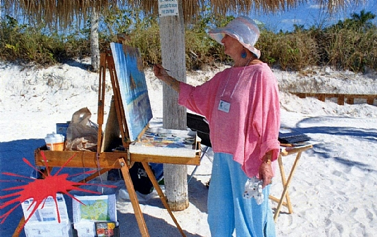 plein-air painter -