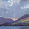 "Brooks Range Haven by Greg McHuron Oil ~ 12"" x 36"""