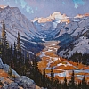 "Golden Gannett by Greg McHuron Oil ~ 40"" x 60"""
