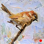 Finch by Derek Penix  ~ 6 x 6