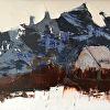 Grey Barn Blue Mountain