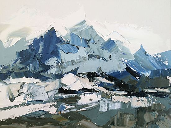 Blue Mountains - Oil