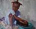 Wash Day in Haiti by Sharon Grubbs