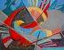 """Firebird by Vcevy Strekalovsky Oil ~ 8"""" x 10"""""""