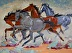 "If Wishes Were Horses by Vcevy Strekalovsky Oil ~ 18"" x 24"""