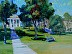 "College On The Hill by Vcevy Strekalovsky Oil ~ 12"" x 16"""