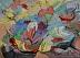 "Sound of Color 1 by Vcevy Strekalovsky Watercolor ~ 10"" x 14"""