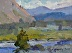 "Buffalo Valley by Vcevy Strekalovsky Oil ~ 6"" x 8"""