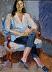 "Vicky by Vcevy Strekalovsky Oil ~ 16"" x 12"""