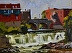 "Otter Creek 2 by Vcevy Strekalovsky Oil ~ 12"" x 16"""