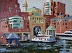 "Waterfront 2 by Vcevy Strekalovsky Oil ~ 12"" x 16"""
