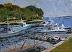 "Cohasset Harbor 2 by Vcevy Strekalovsky Oil ~ 12"" x 16"""